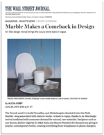 Marble Makes a Comeback in Design